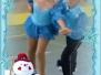 Festa di Natale sui pattini domenica 15 dicembre 2013 Palazzetto dello Sport Pasiano di Pordenone
