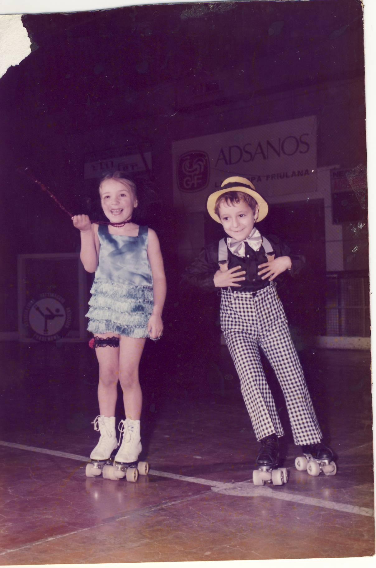 Paola Virgolin e Stefano Marchet Charleston Lola 17.12.1977